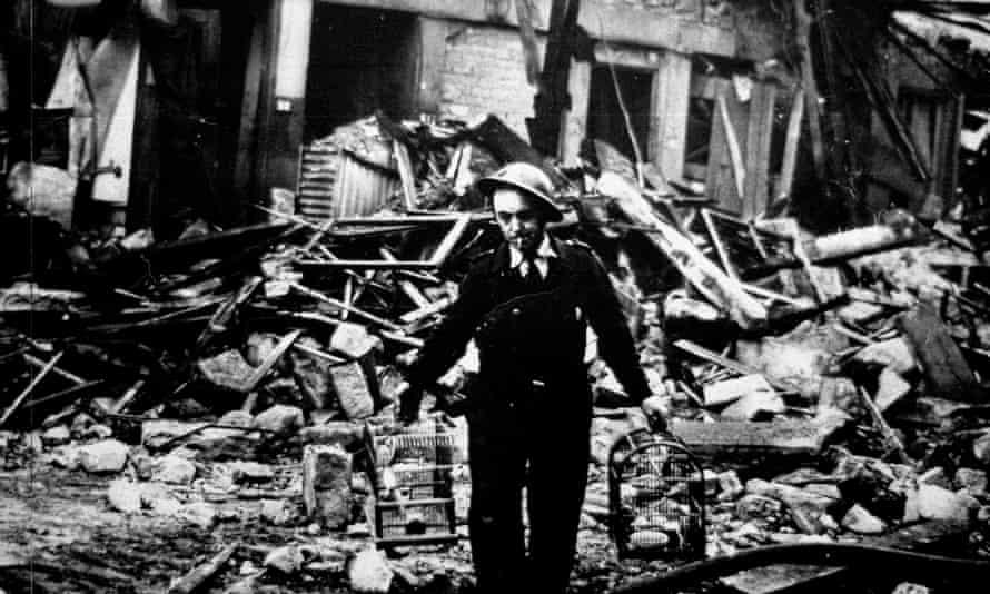 Clydebank Blitz damage in 1941