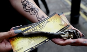 Tickets for the new Harry Potter stage production