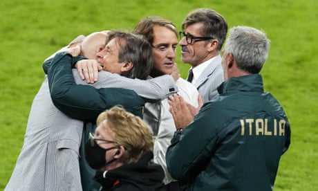 'No one believed we could do it': Mancini delights in Italy's Euro 2020 final place