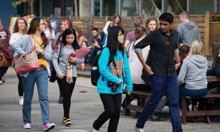 First year undergraduate at Aberystwyth University