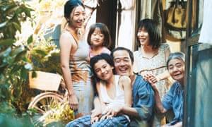 A still from Kore-eda Hirokazu's Shoplifters