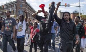 protestors freddie gray