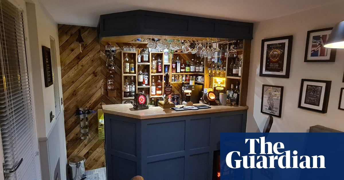 'It has the feel of a little local pub!': Guardian readers on their extraordinary DIY sheds