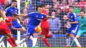 Coutinho scores Liverpool's second via a deflection off John Terry.