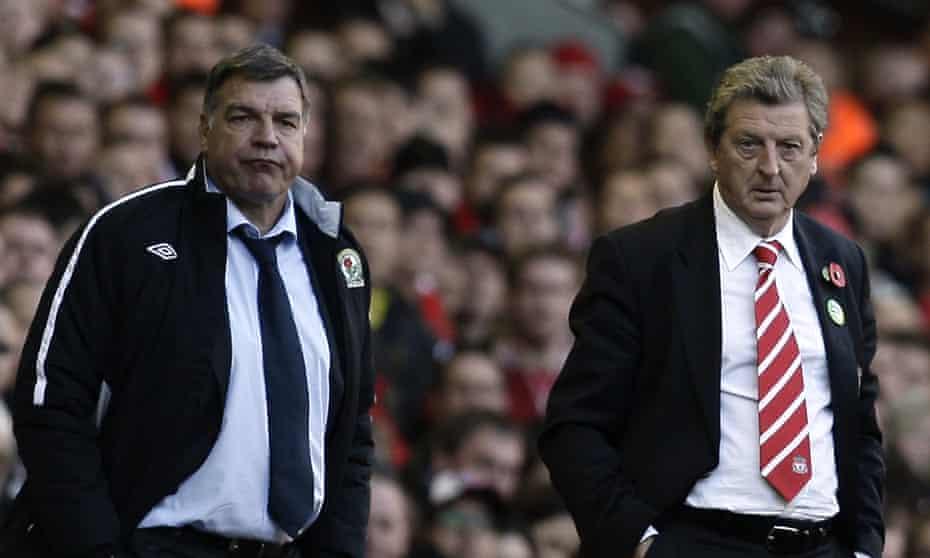 Sam Allardyce and Roy Hodgson in 2010.