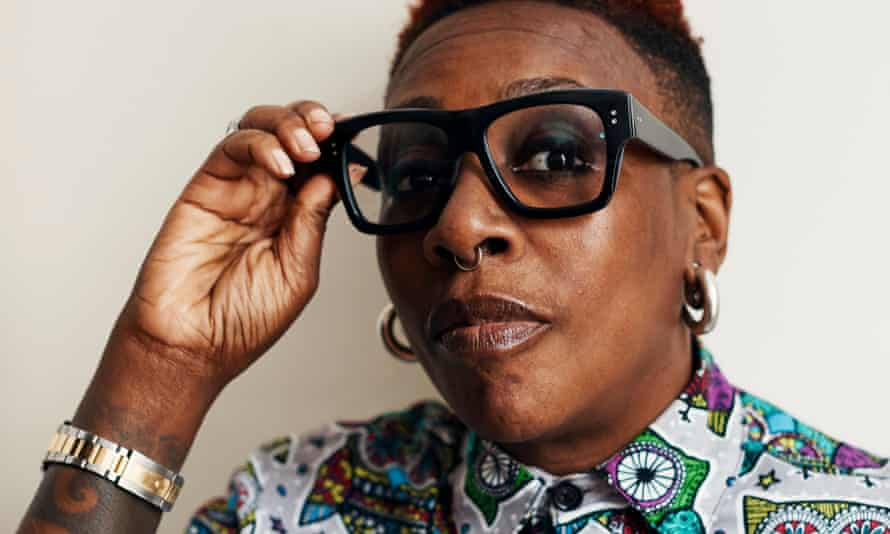 Gina Yashere: 'Most Americans don't know there's black people in England.'