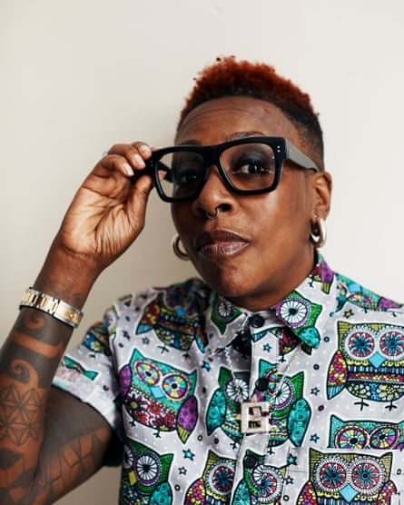 Gina Yashere, comedian and former lift engineer.