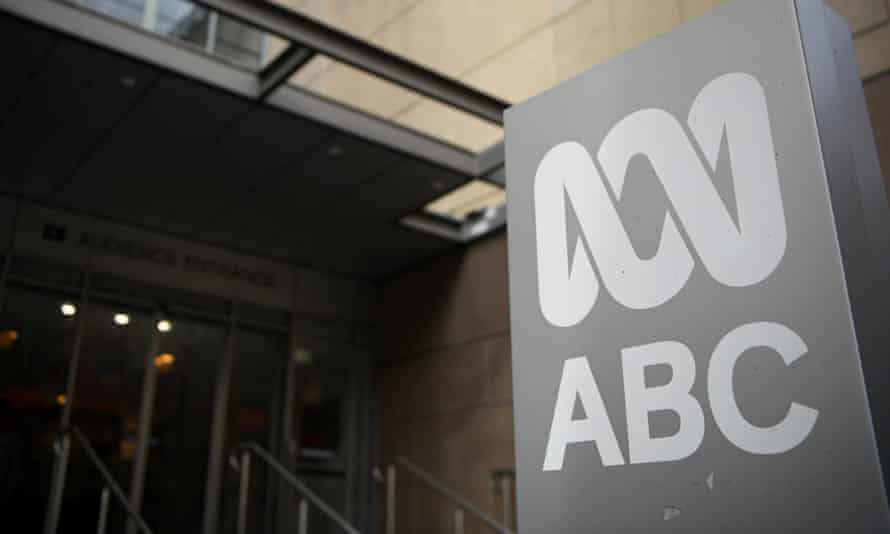 Signage at the ABC building in Sydney