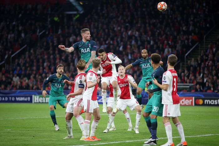 Ajax 2-3 Tottenham (agg: 3-3): Champions League semi-final