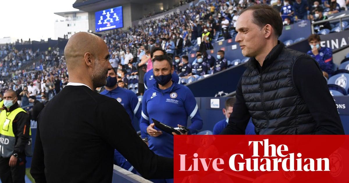 Premier League team news, Chelsea v Manchester City buildup and more – live!