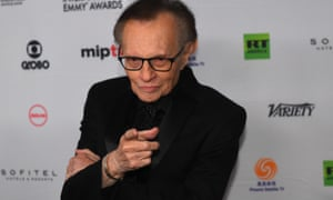 Larry King in 2017.