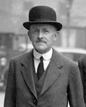Maurice Hankey, the first cabinet secretary