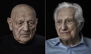 Harry Kaufman and Jules Konopinski, two of the last surviving members of the 43 Group.