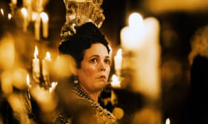 Must-see cachet … Olivia Colman in The Favourite.