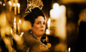 Olivia Colman in The Favourite as Queen Anne