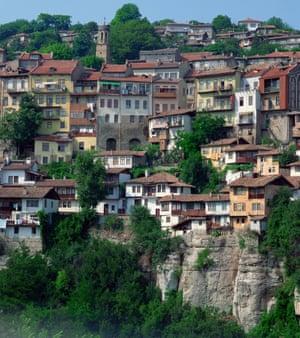 'Bulgaria's former capital, the town of Veliko Tarnovo