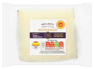 Sainsbury's Spanish Manchego Cheese, Taste the Difference