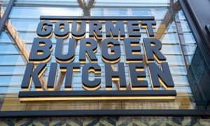 A Gourmet Burger Kitchen restaurant in Bracknell.