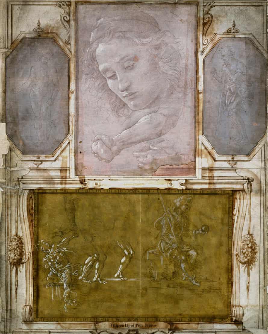 Page from 'Libro dei Desegni' by Georgio Vasari