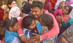 Funeral of Easter Sunday bombing victims In Lahore