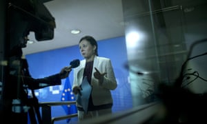 The EU justice commissioner, Věra Jourová