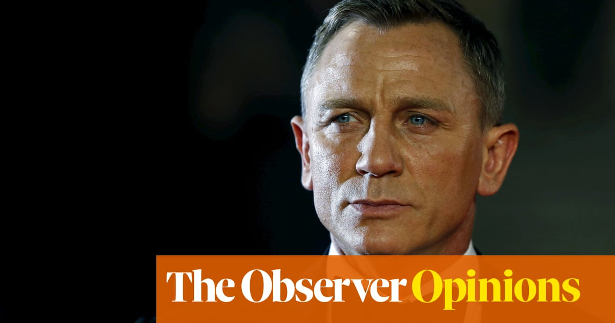 I'm stirred by Daniel Craig's plan to give away his fortune