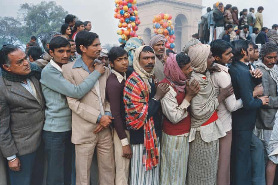 Republic Day parade, New Delhi, 1984.