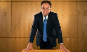 Andrew Bailey, incoming Bank of England governor.