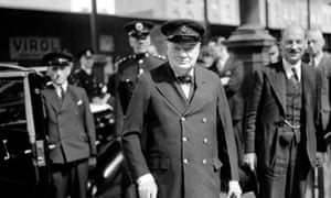 Winston Churchill and Clement Attlee