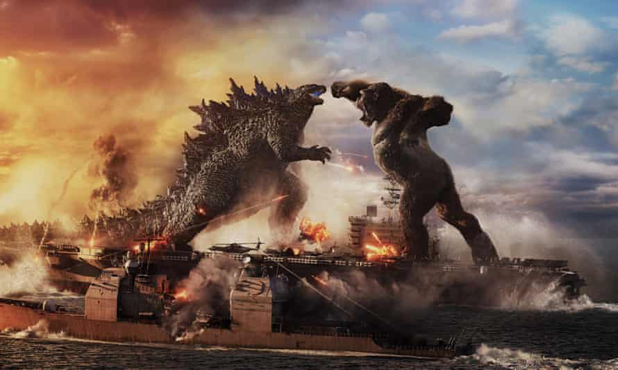 Battle royale … Godzilla vs Kong