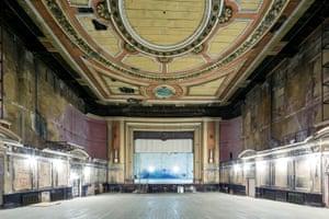 View of the Alexandra Palace theatre auditorium.