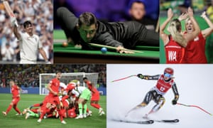 Alastair Cook. Ronnie O'Sullivan, Tracey Neville, Ester Ledecka and the England football team all caught our scribes' eyes.