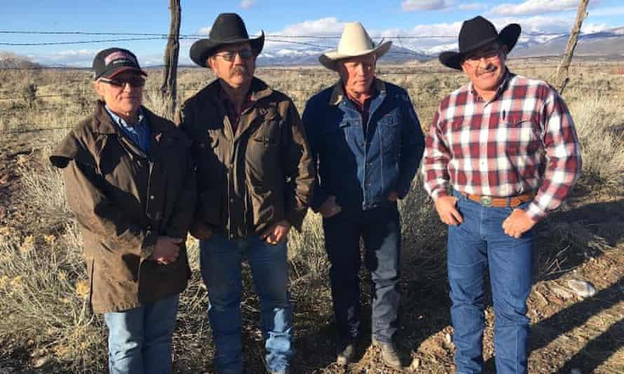 Utah ranchers Marilyn Wood, Matthew Wood, Stanton Gleave, Todd Macfarlane