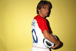 Luka Modric is a veteran of the Croatia side, having made two appearances during the 2006 World Cup.