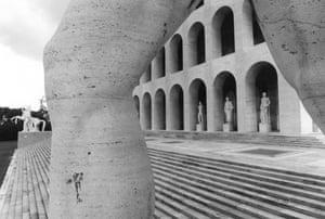 Palazzo della Civiltá Italiana, EUR, 1976