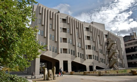 'From the start, brutalism was about going wild with concrete': Leeds University.