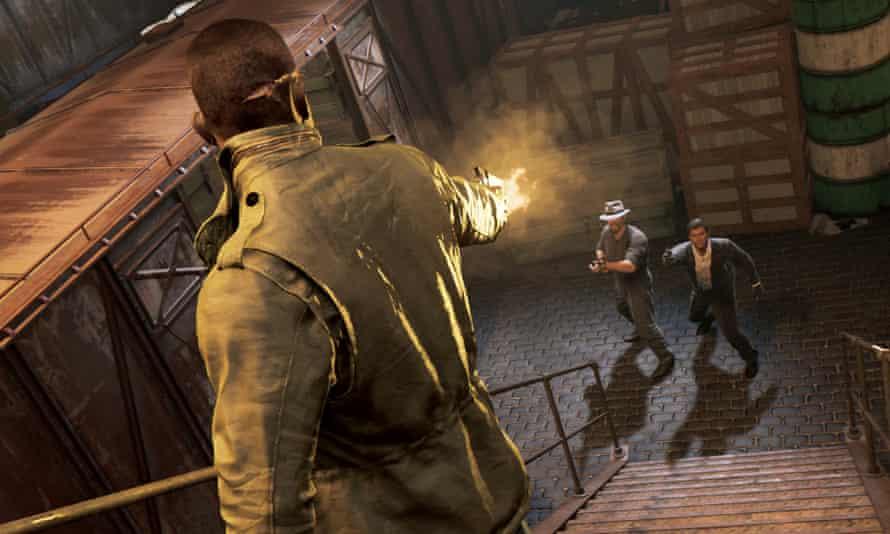 Mafia 3 screenshot showing a shootout.
