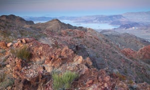 Lake Mead national recreation area. Nevada