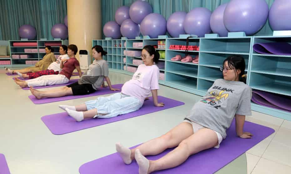 Obstetrics fitness class