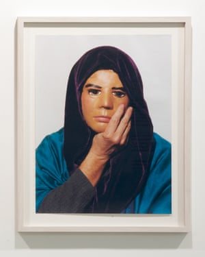 Jimmie Durham, Self-Portrait Pretending to Be Maria Thereza Alves, 1995-2006.