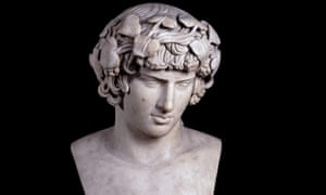 A bust of Antinous, a lover of the Roman emperor Hadrian, features in the British Museum's touring collection.