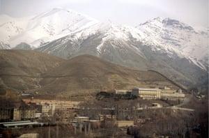 Evin prison in Tehran.