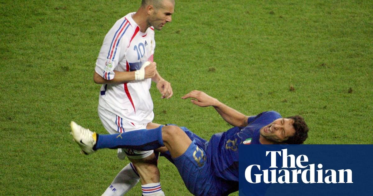 eaff07024b9 World Cup stunning moments  Zinedine Zidane s head-butt