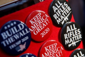 Political pins on sale