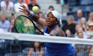 Taylor Townsend's volleying has been a key component of her success.