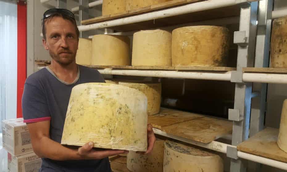 Pure Artisan Cheese head cheese maker Mike Reeve