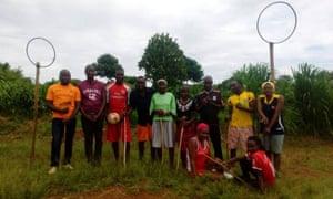 The Ugandan Quidditch team