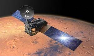 ExoMars Trace Gas Orbiter approaching Mars