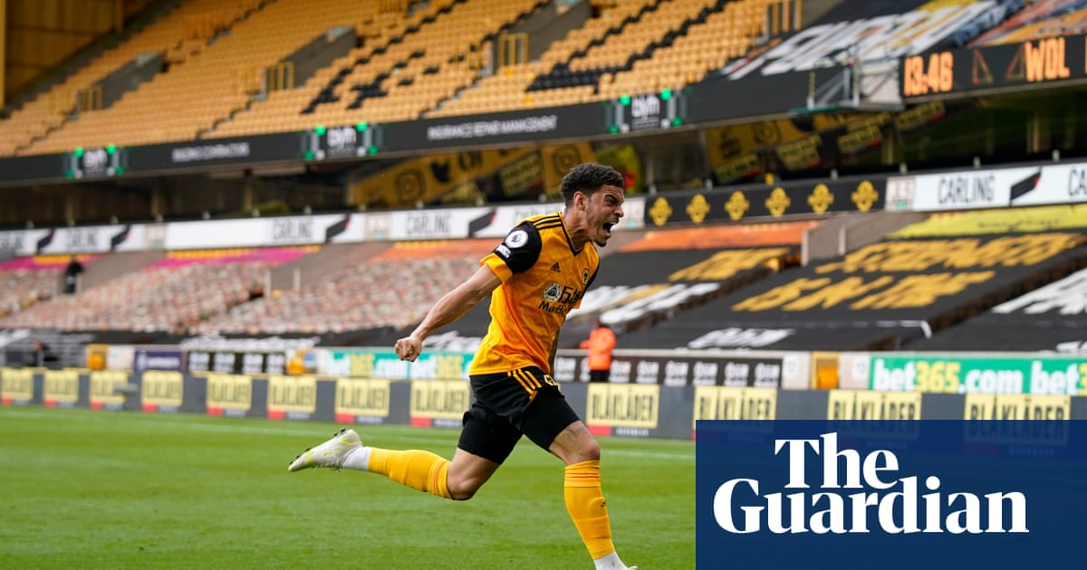 Morgan Gibbs-White gives Wolves late win against depleted Brighton