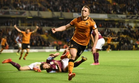 Jota on target as new leaders Wolves breeze past Aston Villa